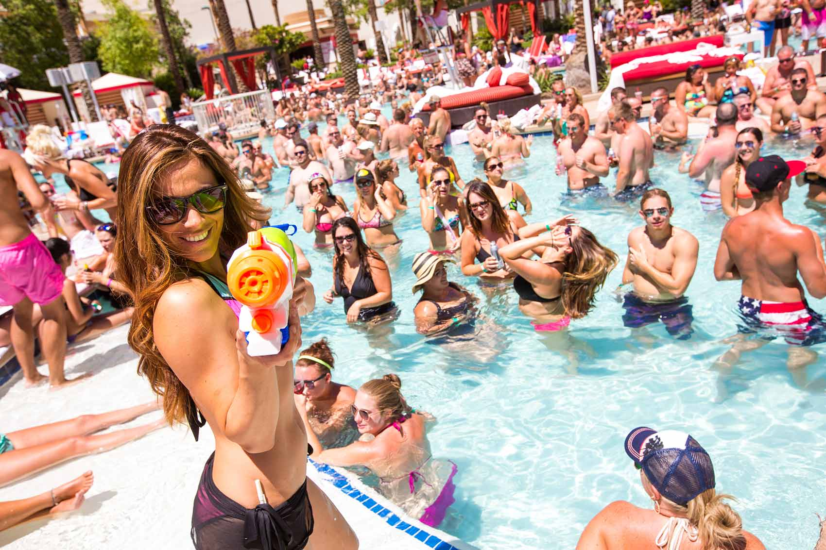 Pool Parties en Las Vegas
